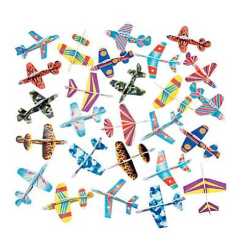 Mini Bulk Glider Plane Assortment 72pcs/pack