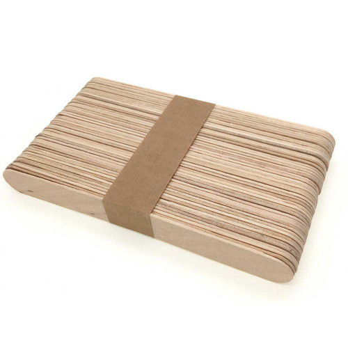 Jumbo Wooden Ice Cream Craft Sticks
