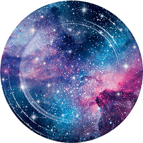 "Galaxy Party 9"" Dinner Plates"