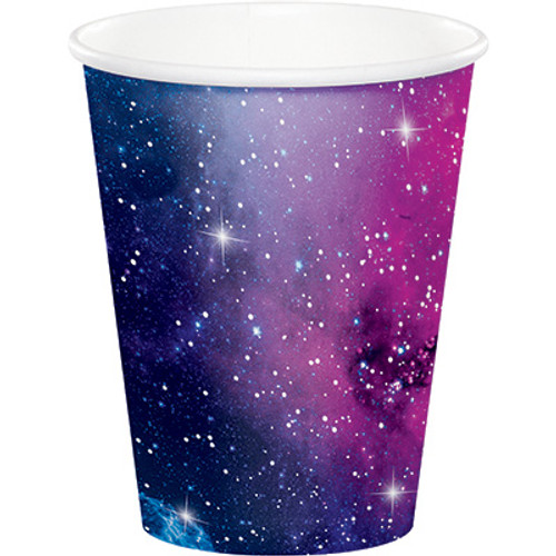 Galaxy Party 9 oz Paper Cups