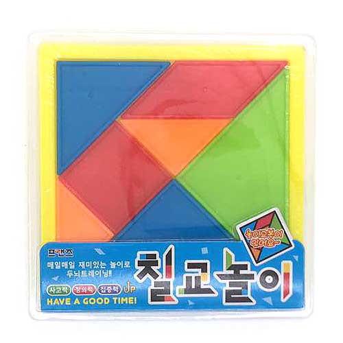 Plastic Tangram Puzzle Game