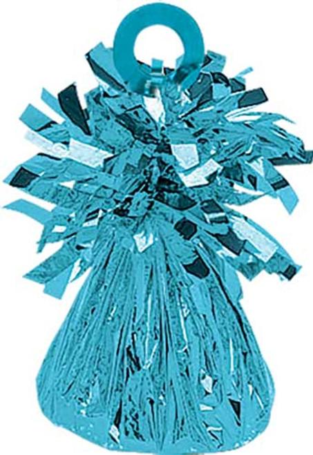 150g Caribbean Blue Foil Balloon Weight