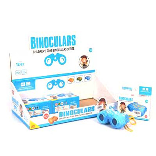 Kids Binoculars Toy Assorted Colors 1pcs
