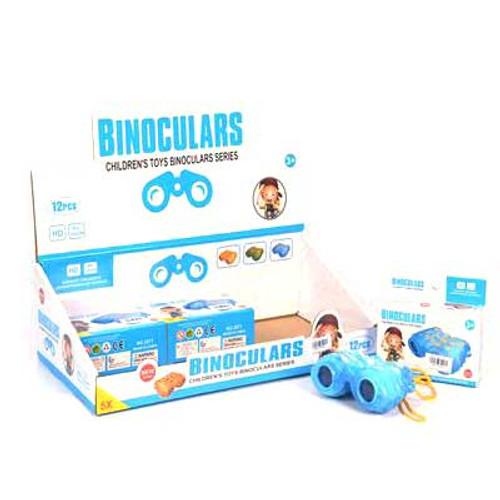 Kids Binoculars Toy Assorted Colors 1pcs