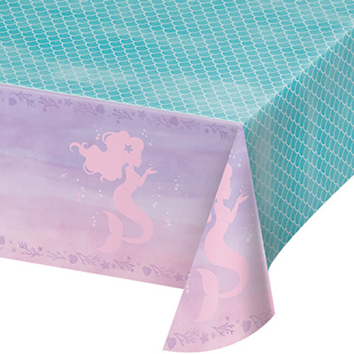 Mermaid Shine Plastic Tablecover