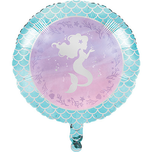 "18"" Mermaid Shine Foil Balloon"