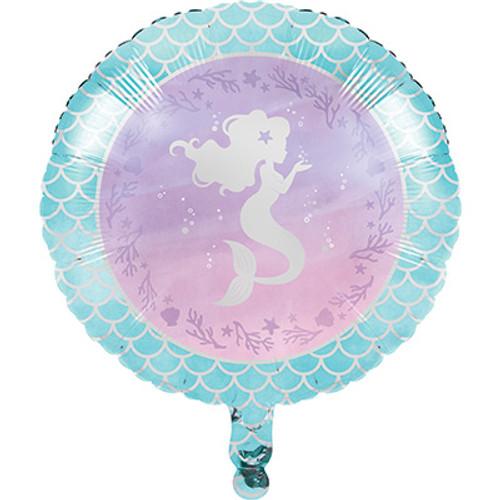 """18"""" Mermaid Shine Foil Balloon"""