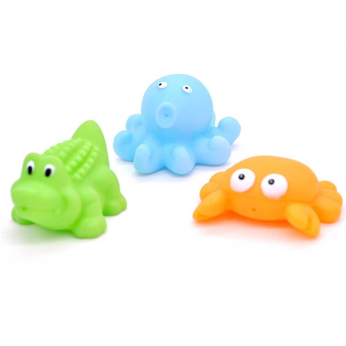 Sea Animal Squirt Toy 3pcs/pack