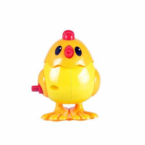 Wind up Plastic Jumping Chicken 1pcs