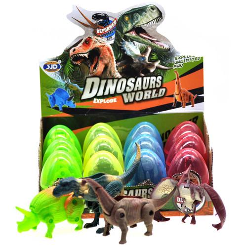Dinosaur Transforming Egg Toy Assortment 1pcs