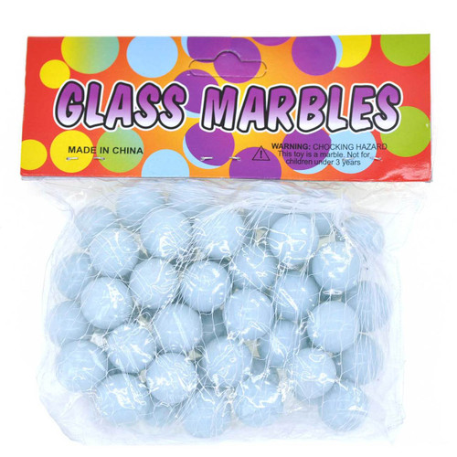 White Milk Marble Game 50pcs/pack