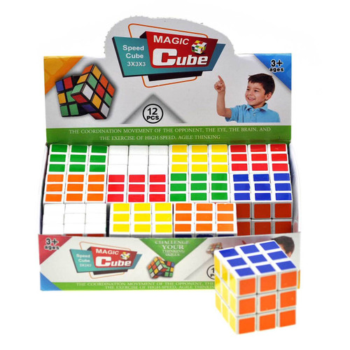3.5cm Mini Magic Cube Game 12pcs/box