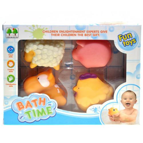 Farm Animal Squirt Toy 4pcs/box