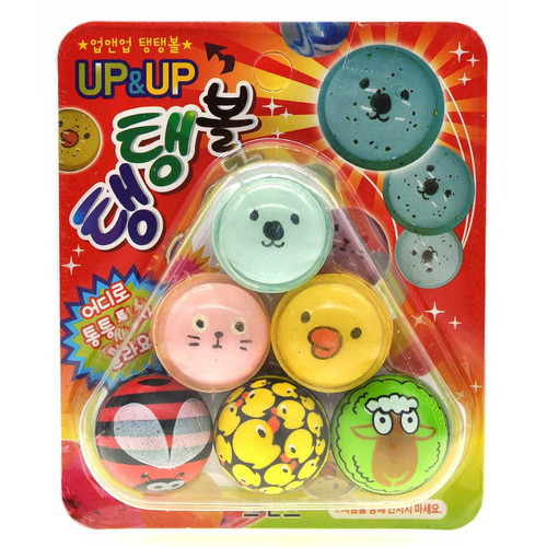 Cute Bouncy Ball 6pcs/pack