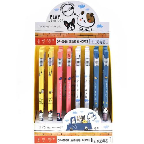 Children Cute Automatic Pencil 40pcs/box