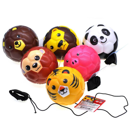Animal Elastic String Ball 12pcs/box