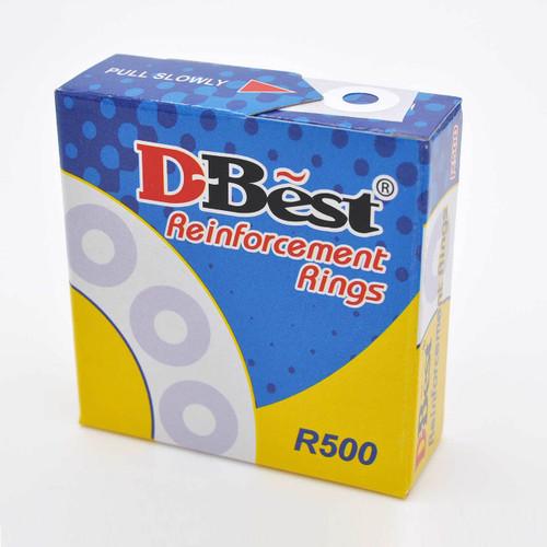 Reinforcement Ring Sticker White 500pcs/box