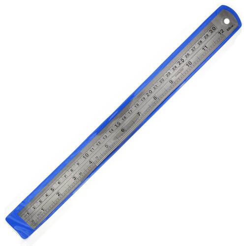 30cm Metal Steel Ruler