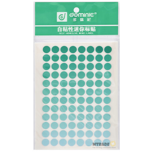 Self Adhesive Label Sticker 8mm Circle 10 sheets/pack