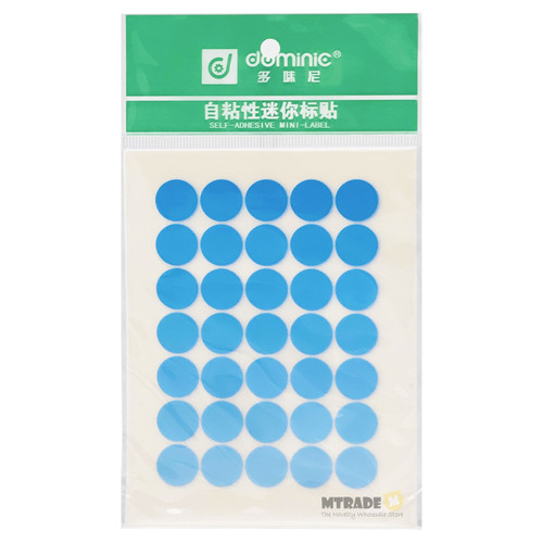 Self Adhesive Label Sticker 13mm Circle 10 sheets/pack