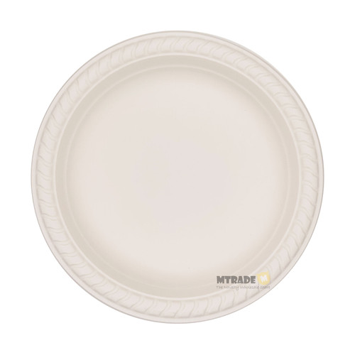 "Disposable 7"" Eco Biodegradable Plates (Corn Starch) 50pcs/pack"