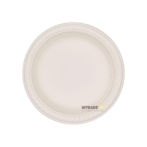 "Disposable 6"" Eco Biodegradable Plates (Corn Starch) 50pcs/pack"