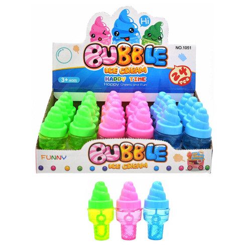 Mini Ice Cream Bubbles 24pcs/box