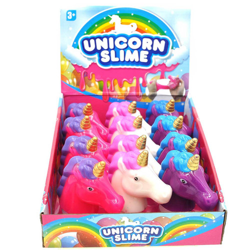 Unicorn Slime Assorted Color 1pcs