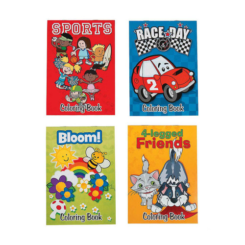 Everyday Coloring Books 12pcs/pack
