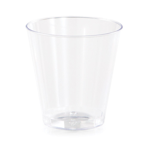 Clear 2 oz Premium Plastic Shot Glass