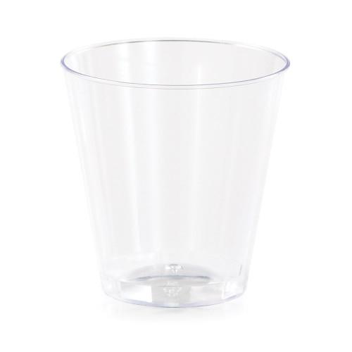 Clear 2 oz Premium Plastic Shot Glass