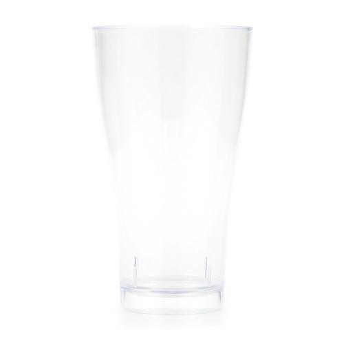 Clear 14 oz Premium Plastic Pilsner Glass
