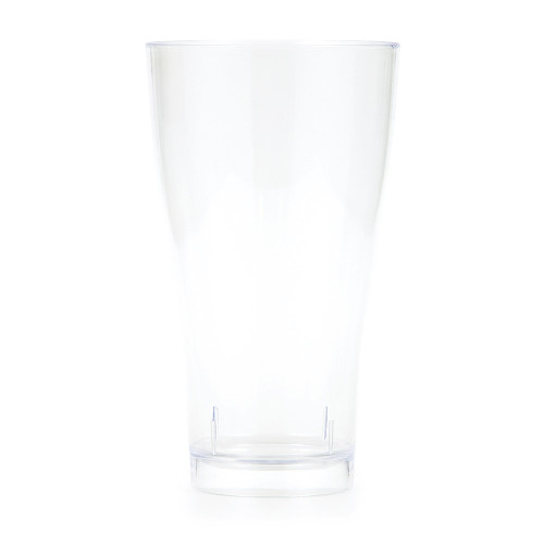 Clear 14 oz Premium Plastic Pilsner Glass