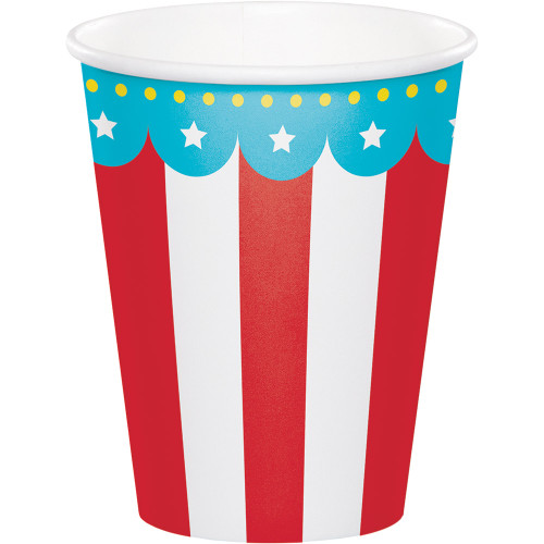 Circus Party 9 Oz Paper Cups