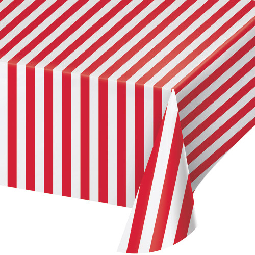Circus Party Plastic Tablecover