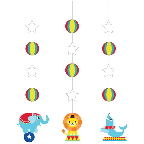 Circus Party Hanging Cutouts