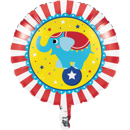 "18"" Circus Party Foil Balloon"