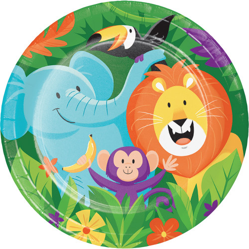 "Jungle Safari 9"" Dinner Plates"