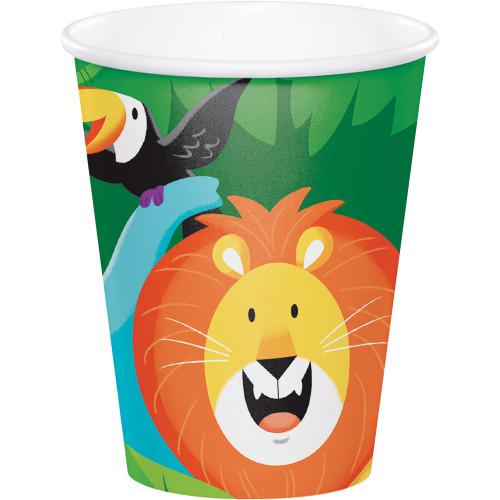 Jungle Safari 9 oz Paper Cups