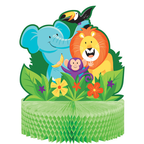 Jungle Safari Honeycomb Centerpiece