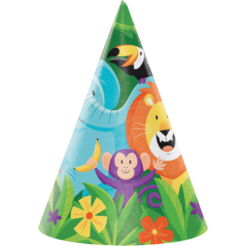 Jungle Safari Child Cone Hats