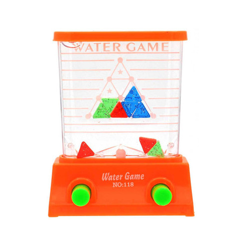 Triangle Puzzle Water Game Assorted Color 1pcs