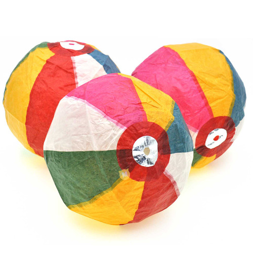 Traditional Paper Balloon 3pcs/pack