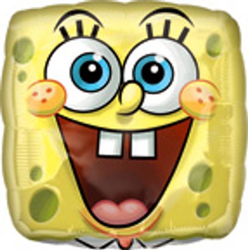 "18"" SpongeBob Square Face Balloon"