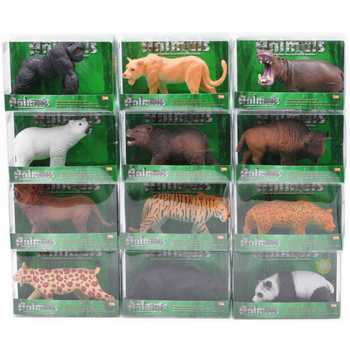Wild Animal Figure Toy Assortment 1pcs/box