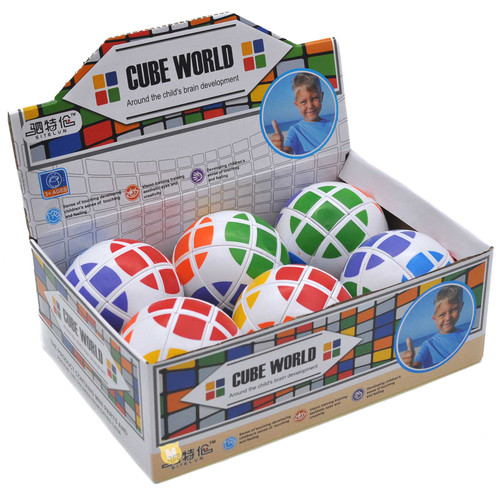 Ball Shape Magic Cube 6pcs/box