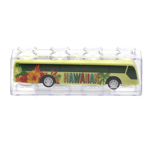 Pullback Bus Toy 1pcs/box