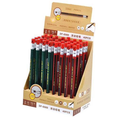 Retro Automatic Pencil 40pcs/box