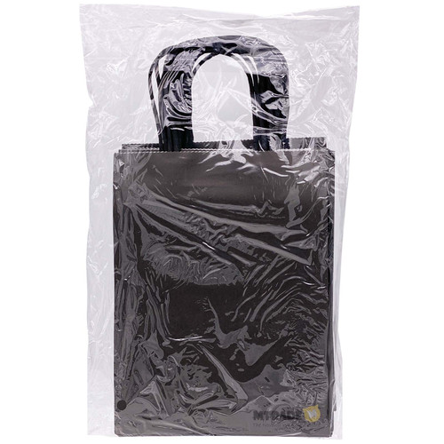 Black Small Kraft Paper Gift Bag 12pcs/pack