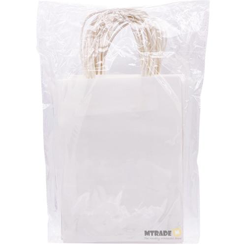 White Small Kraft Paper Gift Bag 12pcs/pack